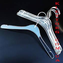 Вешалки плечики акриловые для одежды, 43 см