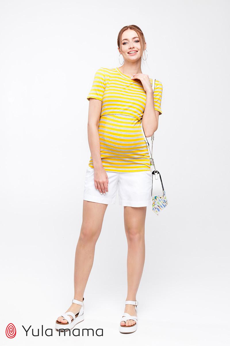 Свободные шорты для беременных в минималистичном стиле SAFO SH-20.012