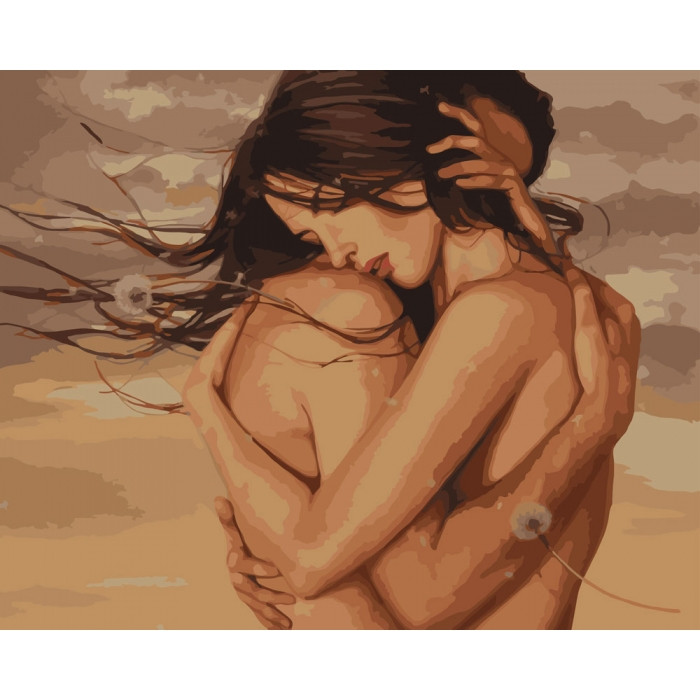 Картина по номерам Идейка - Нежность 40x50 см (КНО2635)