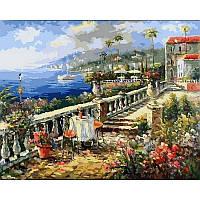Картина по номерам Итальянское лето. Худ. Ким Сен, 40x50 см., Babylon