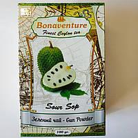 """Чай зелений Bonaventure """"Sour Sop"""" сайсеп 100 грам"""