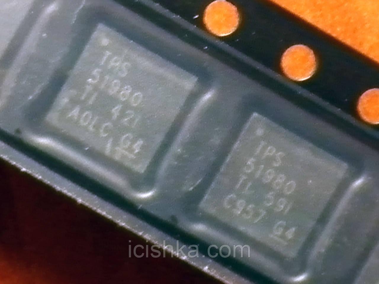TPS51980 QFN32 - контроллер питания дежурных напряжений MacBook