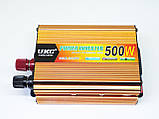 Инвертор UKC 500W 24V в 220V Преобразователь тока AC/DC Gold, фото 2