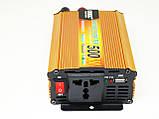 Инвертор UKC 500W 24V в 220V Преобразователь тока AC/DC Gold, фото 3