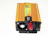 Инвертор UKC 500W 24V в 220V Преобразователь тока AC/DC Gold, фото 5