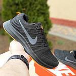 Чоловічі кросівки Nike Zoom (чорно-помаранчеві) 10049, фото 2