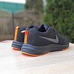 Мужские кроссовки Nike Zoom (черно-оранжевые) 10049, фото 5