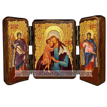 Взыскание Погибших Икона Пресвятой Богородицы  ,икона на дереве 260х170 мм