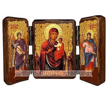 Икона Виленская Пресвятая Богородица  ,икона на дереве 260х170 мм