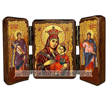 Икона Вифлеемская икона Пресвятой Богородицы  ,икона на дереве 260х170 мм