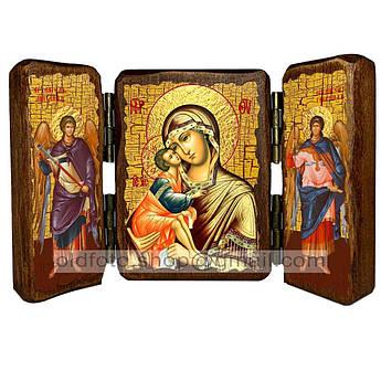 Донская Икона Пресвятой Богородицы  ,икона на дереве 260х170 мм