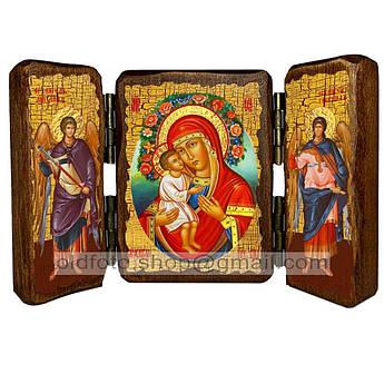 Жировицкая Икона Пресвятая Богородица   ,икона на дереве 260х170 мм