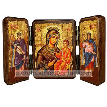 Избавительница Икона Пресвятая Богородица  ,икона на дереве 260х170 мм