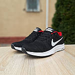 Чоловічі кросівки Nike Zoom (чорно-червоні) 10051, фото 2