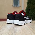 Чоловічі кросівки Nike Zoom (чорно-червоні) 10051, фото 3