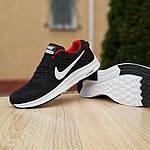 Чоловічі кросівки Nike Zoom (чорно-червоні) 10051, фото 5