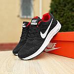 Чоловічі кросівки Nike Zoom (чорно-червоні) 10051, фото 6