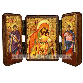 Киккская Икона Пресвятой Богородицы  ,икона на дереве 260х170 мм