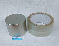 Неодимовый магнит хром 70мм/60мм (300 кг), фото 1