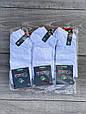 Мужские носки короткие бамбук Marde однотонные 40-45 12 шт в уп белые, фото 2