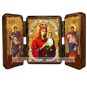 Споручница Грешных Икона Пресвятой Богородицы  ,икона на дереве 260х170 мм