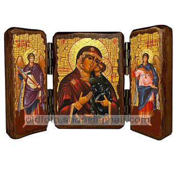 Толгская Икона Пресвятой Богородицы  ,икона на дереве 260х170 мм