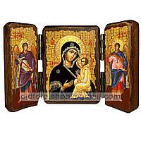 Югская икона Божией Матери (складень тройной 140х100мм)