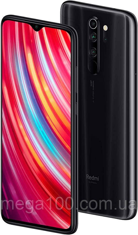 """Смартфон Xiaomi Redmi Note 8 pro черный цвет (""""6,53 экран; памяти 6/64GB, батарея 4500 мАч) глобальная версия"""