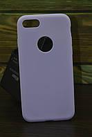 Защитный чехол на Iphone 7 / 8 тонкий лавандовый