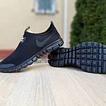 Мужские кроссовки Nike Free Run 3.0 (черные) 10052, фото 4