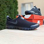 Мужские кроссовки Nike Free Run 3.0 (черные) 10052, фото 5