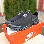 Мужские кроссовки Nike Free Run 3.0 (черные) 10052, фото 8