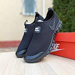 Мужские кроссовки Nike Free Run 3.0 (черные) 10052, фото 9
