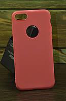 Защитный чехол на Iphone 7 / 8 тонкий красный