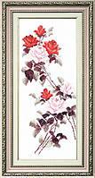 """ВТ-053 Набор для вышивания крестом Crystal Art """"Этюд с красными розами"""""""