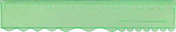 Лінійка пласт. 15см №ЛВ-150 прозор. кольор. кульк.руч(5)(280)