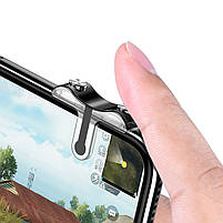 Триггеры Baseus G9 для PUBG Mobile / Геймпад для смартфона, Тригеры для телефона, ПУБГ, ПАБГ Джойстик, Трігіри, фото 6