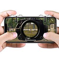 Триггеры Baseus G9 для PUBG Mobile / Геймпад для смартфона, Тригеры для телефона, ПУБГ, ПАБГ Джойстик, Трігіри, фото 5