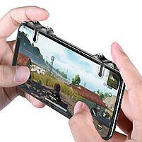 Триггеры Baseus G9 для PUBG Mobile / Геймпад для смартфона, Тригеры для телефона, ПУБГ, ПАБГ Джойстик, Трігіри, фото 2