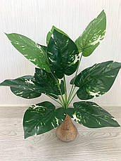 Искусственный,декоративный куст-филодендрон ( латекс 40 см), фото 3