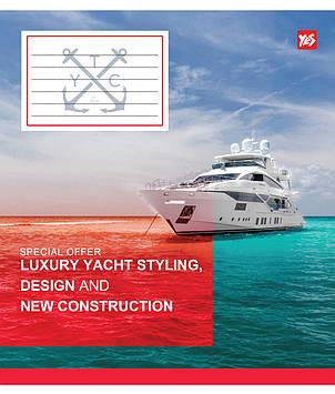 Зошит 48арк. лін. YES Yacht №762147(10)(200)