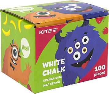 """Крейда біла """"Kite"""" №K19-079-100 100шт круг. Jolliers(48)"""