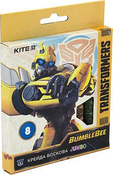 "Крейда воск. ""Kite"" №TF19-076 8кольор. Jumbo Transformers(12)"