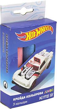 "Крейда кольор. ""Kite"" №HW19-077 3кольор. Jumbo Hot Wheels(20)(120)"