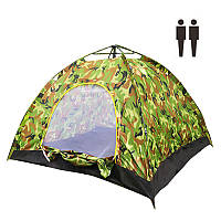 Палатка автомат 2 местная камуфляж 149983