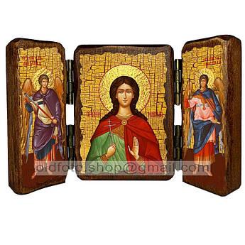Икона Марина Святая Великомученица  ,икона на дереве 140х100 мм