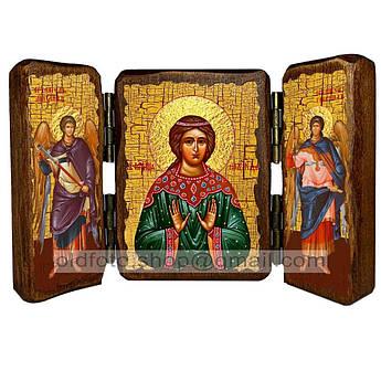 Икона Надежда Святая Мученица Римская  ,икона на дереве 140х100 мм