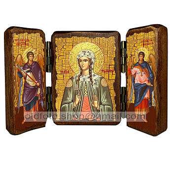 Икона Светлана Святая Мученица  ,икона на дереве 140х100 мм