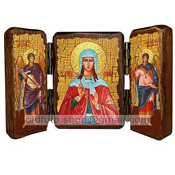 Икона София Святая Мученица Римская  ,икона на дереве 340х230 мм
