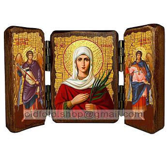 Икона Татиана (Татьяна) Святая Мученица  ,икона на дереве 140х100 мм
